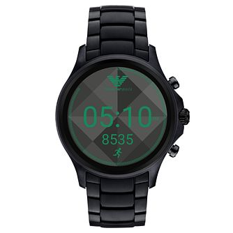 Emporio Armani Connected Men's Ion Plated Display Smartwatch - Product number 8217068