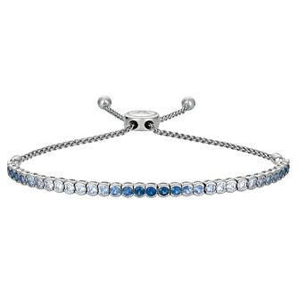 Le Vian 14ct Vanilla Gold Denim Sapphire Ombre Bracelet - Product number 8221464