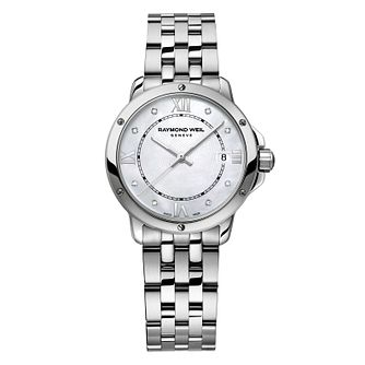Raymond Weil Tango Ladies' Mother of Pearl Bracelet Watch - Product number 8226032