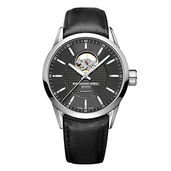 Raymond Weil Freelancer Men's Stainless Steel Black Watch - Product number 8226067
