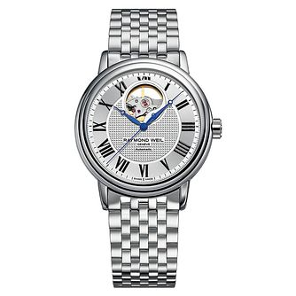 Raymond Weil Maestro Men's Stainless Steel Bracelet Watch - Product number 8226083