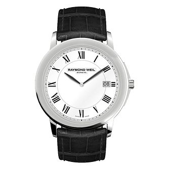 Raymond Weil Tradition Men's Stainless Steel Strap Watch - Product number 8226113