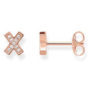 Thomas Sabo Glam & Soul Rose Gold Plated X Stud Earrings - Product number 8226911