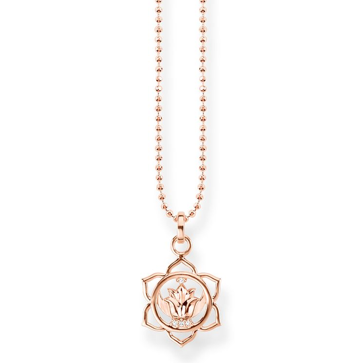 Thomas Sabo Glam & Soul Rose Gold Plated Chakra Pendant - Product number 8227349