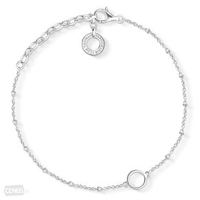 Thomas Sabo Sterling Silver Beaded Charm Club Bracelet - Product number 8227551