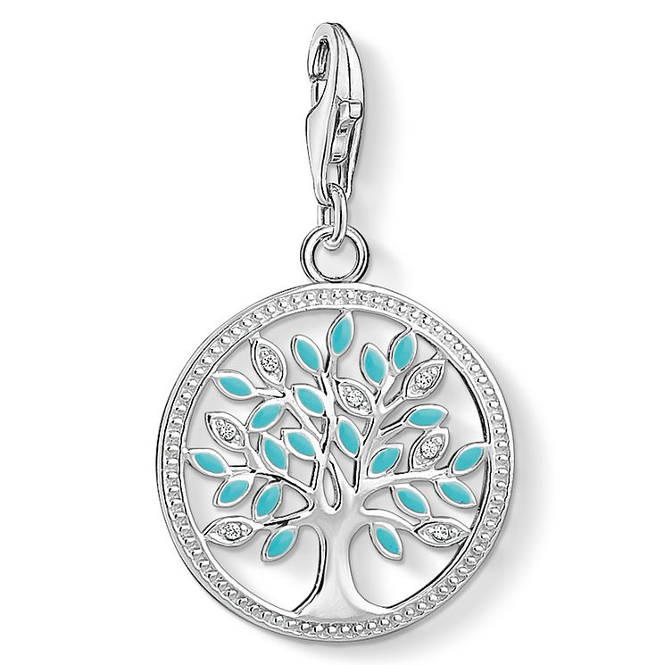 Thomas Sabo Sterling Silver Tree of Love Charm - Product number 8227578