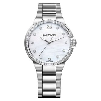 Swarovski City Stainless Steel Ladies' Crystal Watch - Product number 8228957