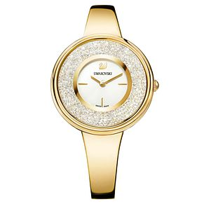 Swarovski Crystalline Pure Ladies' Gold Plated Watch - Product number 8231303
