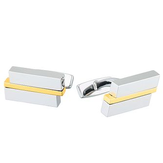 Hugo Boss Mick Men's Stainless Steel Cufflinks - Product number 8231400
