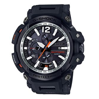Casio Gravitymaster Men's Stainless Steel Black Strap Watch - Product number 8344787