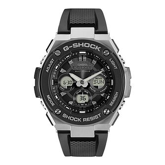 Casio G-Shock Men's Stainless Steel Black Strap Watch - Product number 8344825