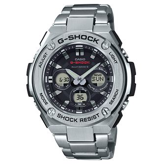Casio G-Shock Men's Stainless Steel Black Bracelet Watch - Product number 8344841