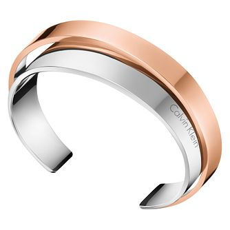 Calvin Klein Unite Two Colour Bangle - Product number 8345864