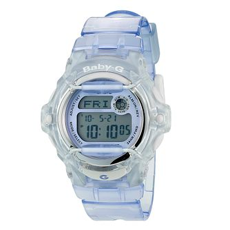 Casio Baby-G Ladies' Purple Resin Strap Watch - Product number 8346550