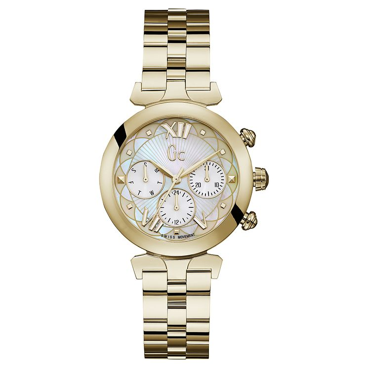 Gc LadyBelle Ladies' Gold Tone Steel Bracelet Watch - Product number 8346828