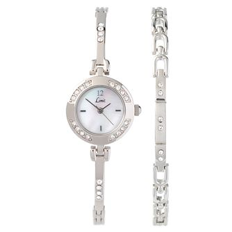 Limit Ladies' Alloy Watch & Bracelet Gift Set - Product number 8348790