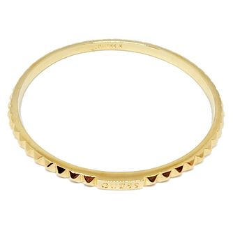 Guess Gold Plated Studded Circle Bangle - Product number 8359997