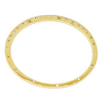 Guess Gold Plated Crystal Circle Bangle - Product number 8360014