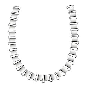 Guess Rhodium Plated Big Link Chain Necklace - Product number 8360316