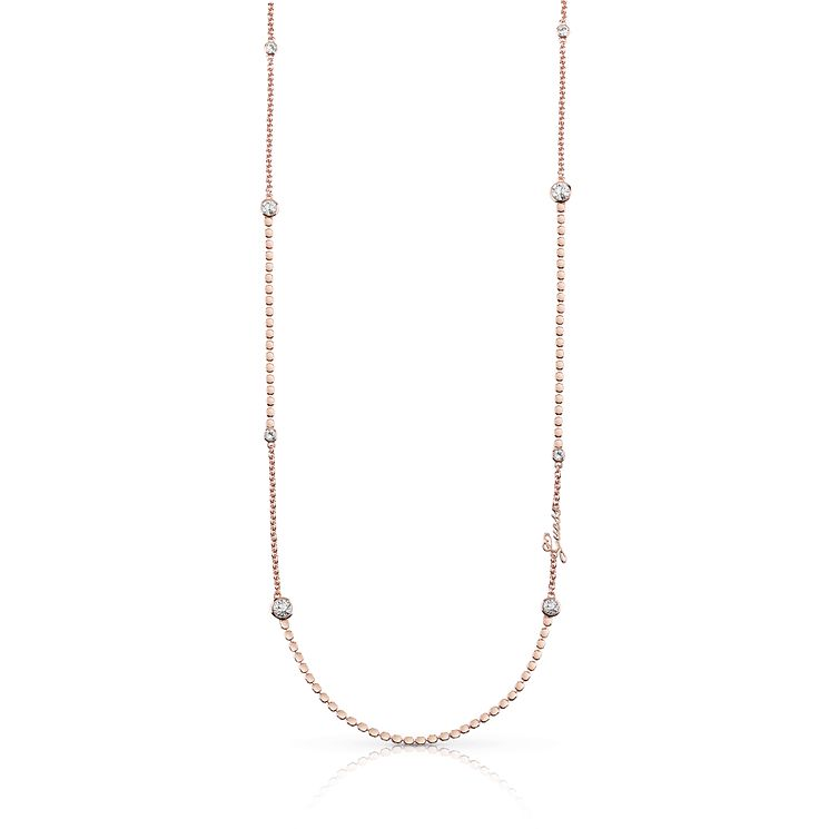 Guess Rose Gold Plated Multi Crystal Necklace - Product number 8360510