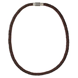 Spartan Hercules brown leather necklace 50cm - Product number 8365377