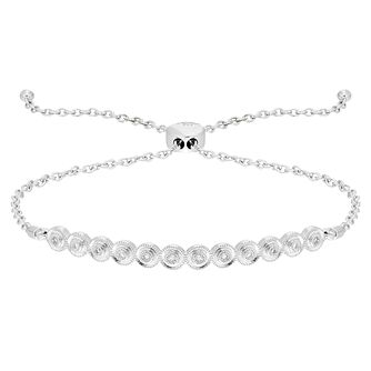 Neil Lane 0.10ct Diamond Round Bolo Bracelet - Product number 8367256