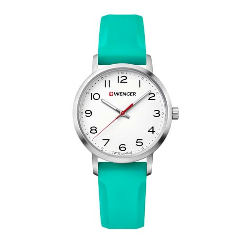 Wenger Avenue Ladies' Green Silicone Strap Watch - Product number 8367914