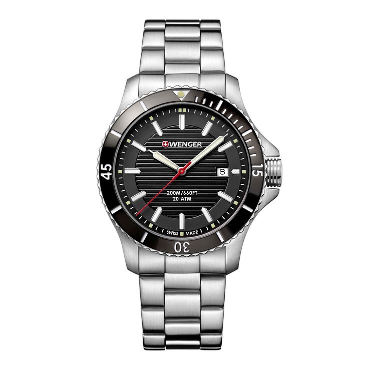 Wenger Seaforce Men's Stainless Steel Bracelet Watch - Product number 8367949