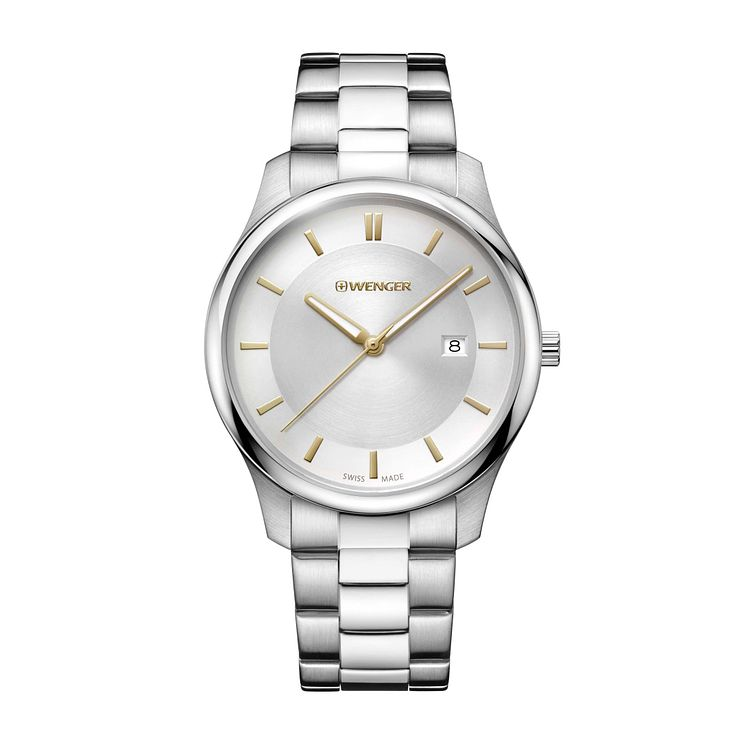 Wenger City Classic Men's Stainless Steel Bracelet Watch - Product number 8368031