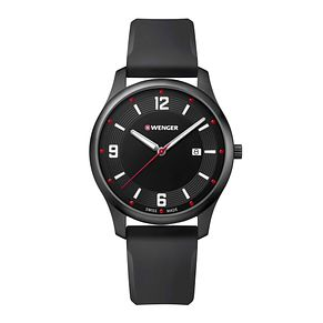 Wenger City Active Men's Black Silicone Strap Watch - Product number 8368104
