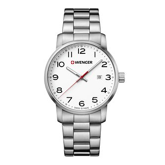 Wenger Avenue Men's Stainless Steel Bracelet Watch - Product number 8368236