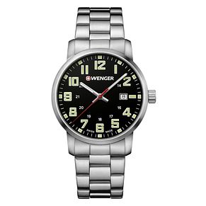 Wenger Avenue Men's Stainless Steel Bracelet Watch - Product number 8368287