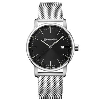 Wenger Urban Classic Men's Steel Mesh Strap Watch - Product number 8368376