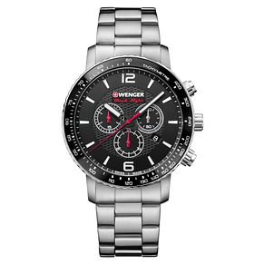 Wenger Roadster Black Night Men's Steel Bracelet Watch - Product number 8368538