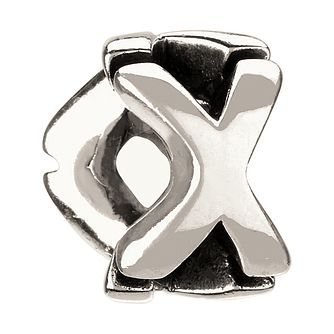 Chamilia - Sterling Silver Letter X Bead - Product number 8368813