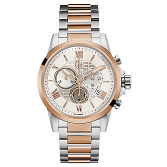 GC Esquire Men's Two Colour Chronograph Bracelet Watch - Product number 8376492
