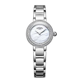 Rotary Ladies' Cocktail Stainless Steel Bracelet Watch - Product number 8376816