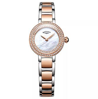 Rotary Ladies' Cocktail Two Tone Bracelet Watch - Product number 8376824