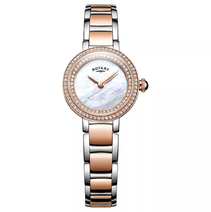 Rotary Ladies' Two Colour Stainless Steel Bracelet Watch - Product number 8376824