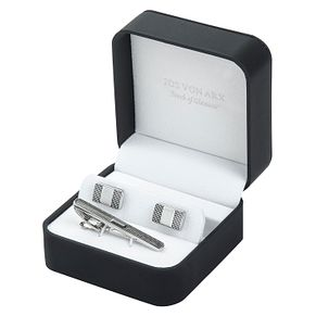 Jos Von Arx Cufflink & Tie Bar Gift Set - Product number 8376883