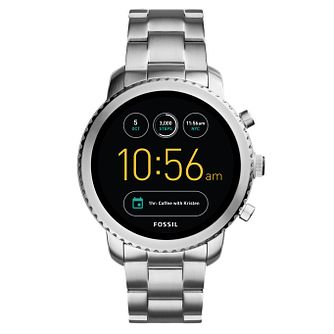 Fossil Q Men's Stainless Steel Bracelet Smartwatch - Product number 8382972