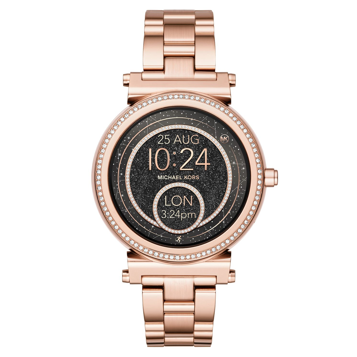 Michael Kors Access Sofie Rose Gold Tone Smartwatch Ernest Jones