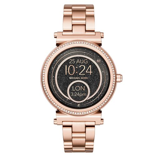 Michael Kors Access Sofie Rose Gold Tone Smartwatch - Product number 8388318