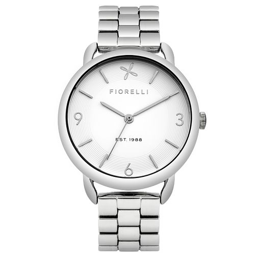 Fiorelli Ladies' Stainless Steel Bracelet Watch - Product number 8389659