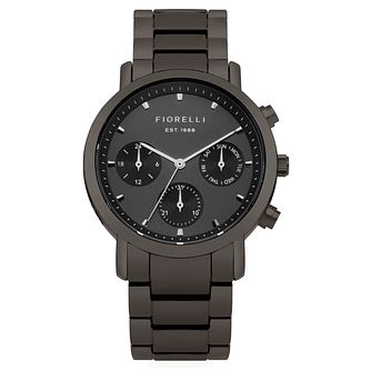 Fiorelli Ladies' Grey Bracelet Watch - Product number 8389705