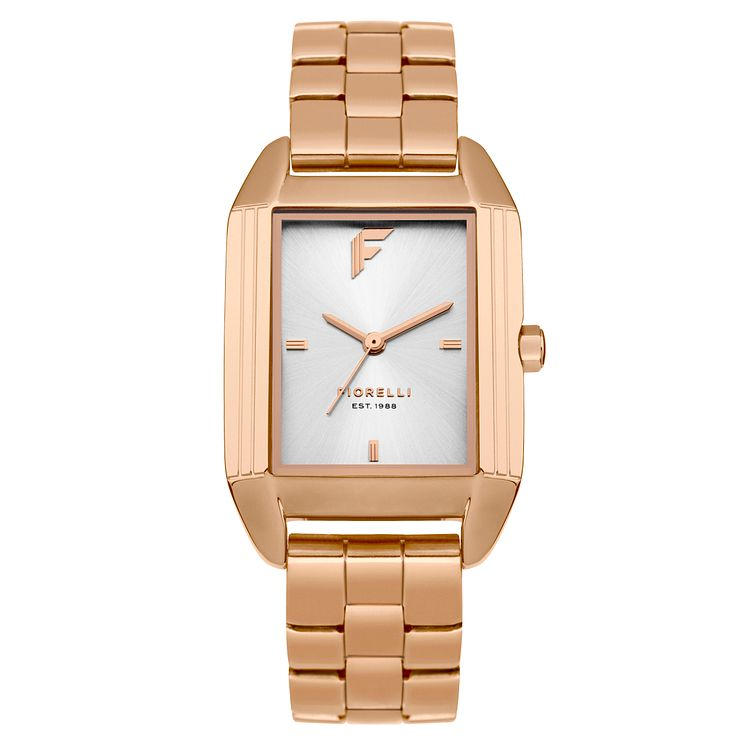 Fiorelli Ladies' Rose Gold Bracelet Watch - Product number 8389748