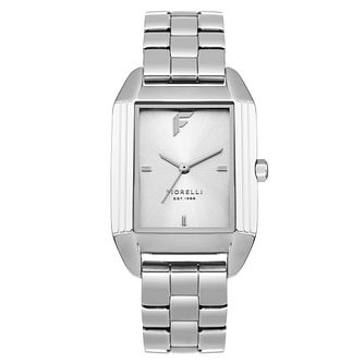 Fiorelli Ladies' Silver Bracelet Watch - Product number 8389756