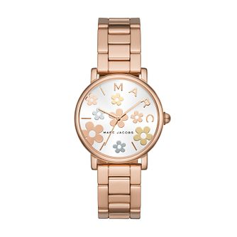 Marc Jacobs Classic Ladies' Rose Gold Tone Bracelet Watch - Product number 8390207