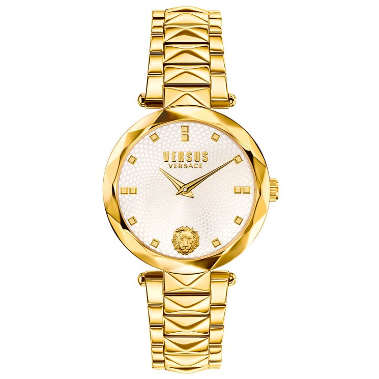 Versus Versace Ladies' Gold Plated Bracelet Watch - Product number 8391327