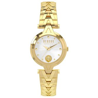 Versus Versace Ladies' Gold Plated Bracelet Watch - Product number 8391351